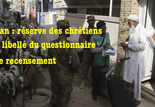 Pakistan : les chrétiens et le recensement…