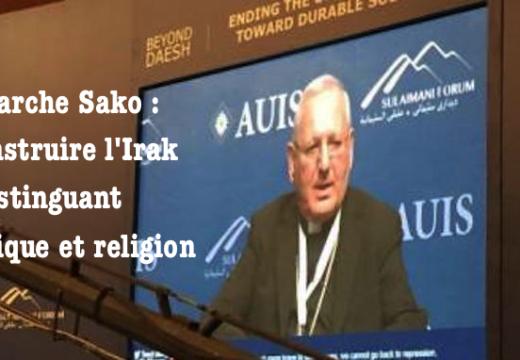 Irak : pour sa reconstruction, distinguer le politique du religieux, réaffirme le patriarche Sako