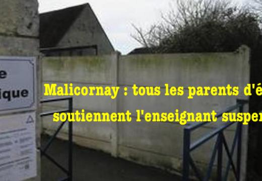 Malicornay : tous les parents d'élèves soutiennent le professeur suspendu