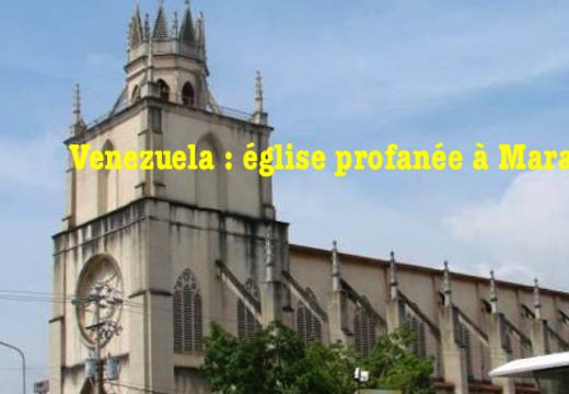 Venezuela : vol et profanation dans une église de Maracaibo