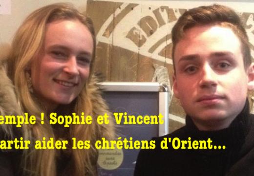 Deux jeunes Nantais au secours des chrétiens d'Orient !
