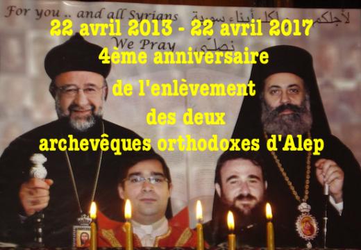 Syrie : deux archevêques enlevés depuis 4 ans !