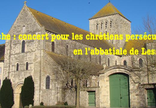 Abbatiale de Lessay : concert pour les chrétiens persécutés