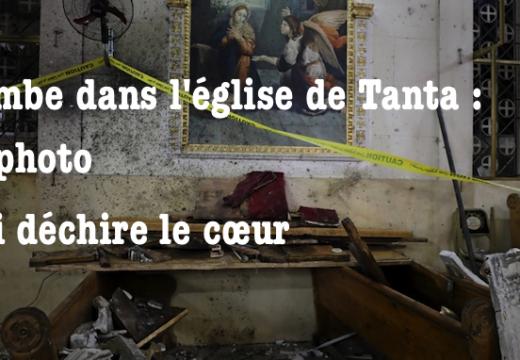Attentat contre l'église de Tanta : la photo qui déchire le cœur…