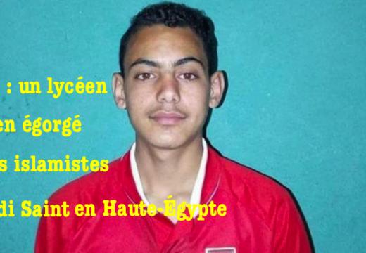 Égypte : un adolescent chrétien égorgé par des islamistes