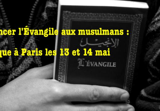 Forum à Paris : Évangéliser les musulmans