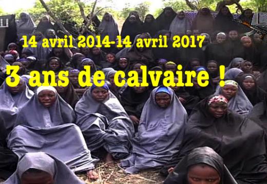 Enlèvement des lycéennes nigérianes : trois ans déjà !