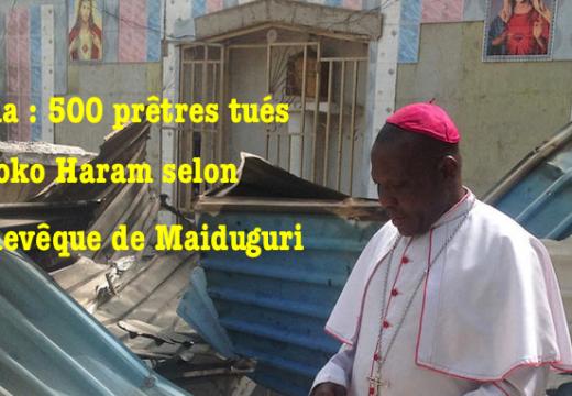 Nigéria : 500 prêtres catholiques tués par Boko Haram dans l'État de Borno