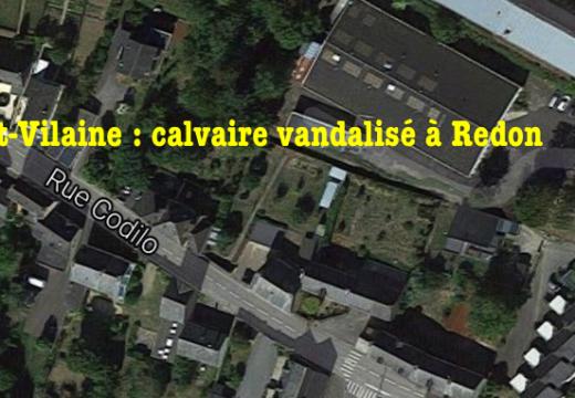 Ille-et-Vilaine : calvaire vandalisé à Redon