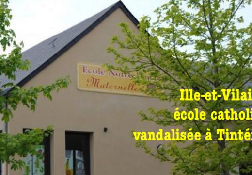 Ille-et-Vilaine : maternelle catholique vandalisée à Tinténiac