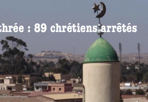 Érythrée : 89 chrétiens pentecôtistes emprisonnés