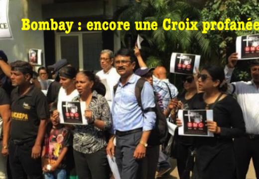 Bombay : une autre Croix profanée
