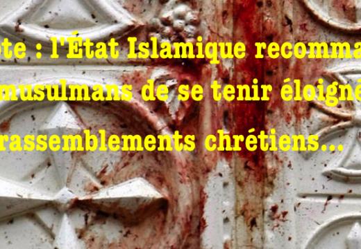Égypte : les islamistes invitent les musulmans à se tenir éloignés des lieux de culte chrétiens…