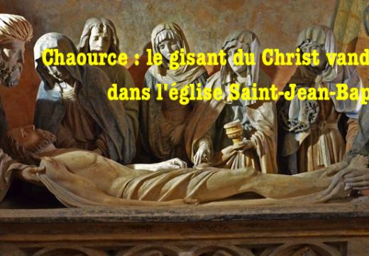 """Chaource : la """"Mise au tombeau"""" vandalisée dans l'église Saint-Jean-Baptiste"""