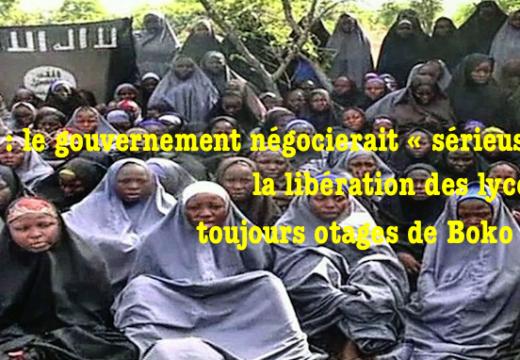 Nigéria : le gouvernement négocierait « sérieusement » la libération de toutes les lycéennes