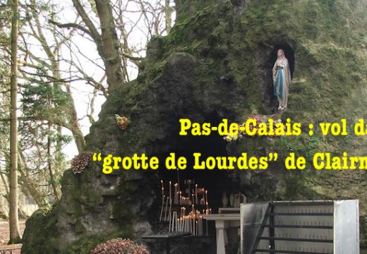 Pas-de-Calais : vol dans un site de pèlerinage à Clairmarais