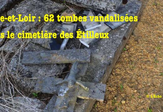 Eure-et-Loir : 62 tombes vandalisées dans le cimetière des Étilleux