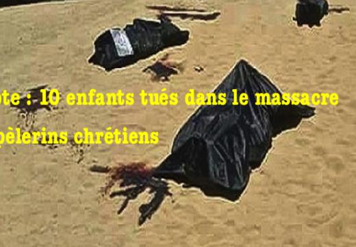 Égypte : 10 enfants chrétiens ont été tués dans le carnage du Fayoum