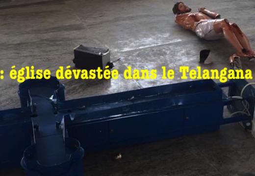 Inde : une église catholique dévastée dans le Telangana