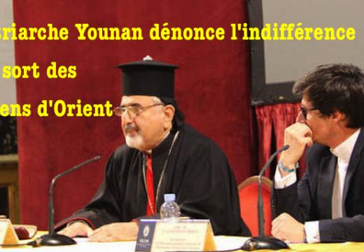 Patriarche Younan : « La situation des chrétiens d'Orient est insupportable »