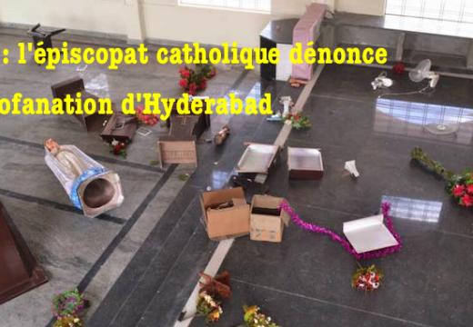 Inde : les évêques catholiques dénoncent la profanation de la chapelle d'Hyderabad
