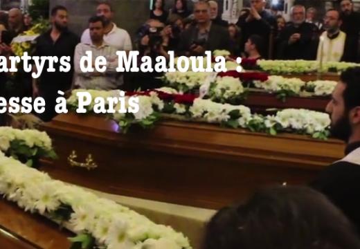 Martyrs de Maaloula : messe à Paris samedi 13 mai