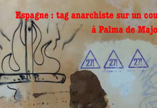 Espagne : tag sataniste sur un couvent de Palma