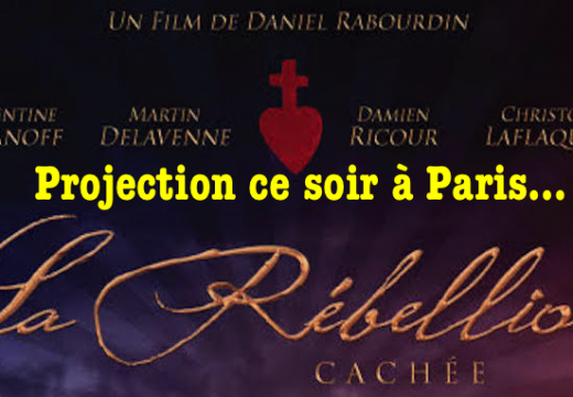 « La Rébellion cachée » : projection ce soir à Paris
