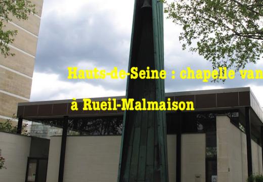 Hauts-de-Seine : chapelle vandalisée à Rueil-Malmaison