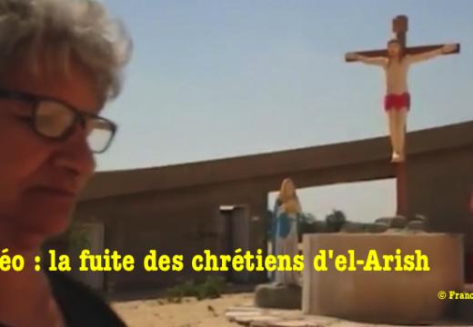 Vidéo sur les chrétiens fuyant l'État Islamique dans le Sinaï