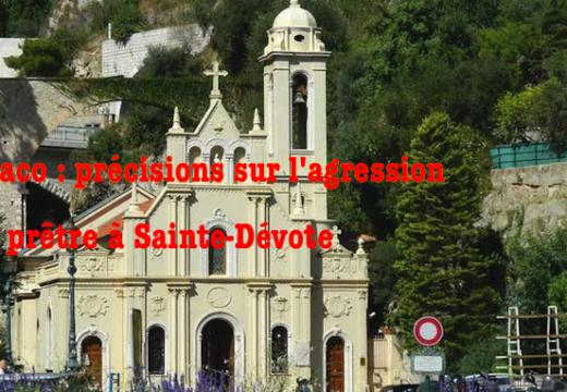 Monaco : précisions sur l'agression du prêtre à Sainte-Dévote