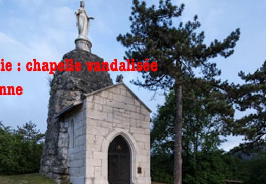 Savoie : chapelle vandalisée à Yenne