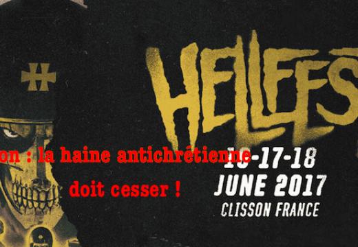 Hellfest 2017 : une pétition pour le respect des chrétiens