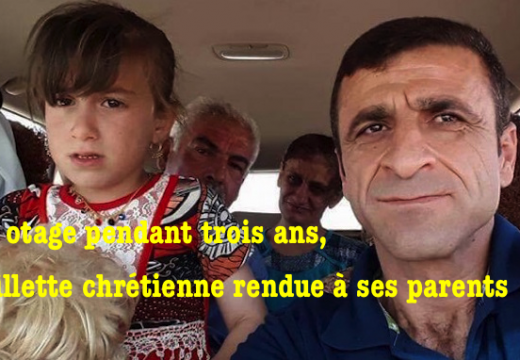 Irak : otage pendant trois ans, une fillette chrétienne retrouve ses parents