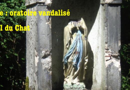 Savoie : vandalisme antichrétien au col du Chat