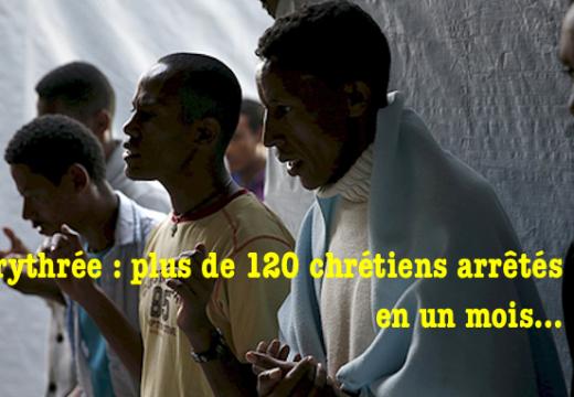 Érythrée : plus de 120 chrétiens arrêtés depuis mai…
