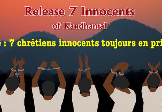 Inde : 7 chrétiens innocents toujours en prison depuis près de dix ans