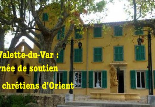 La Valette-du-Var : journée de soutien aux chrétiens d'Orient