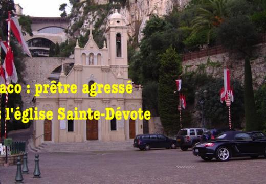 Monaco : prêtre agressé dans l'église Sainte-Dévote