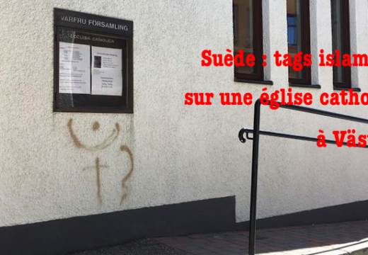 Suède : tags islamistes sur une église catholique