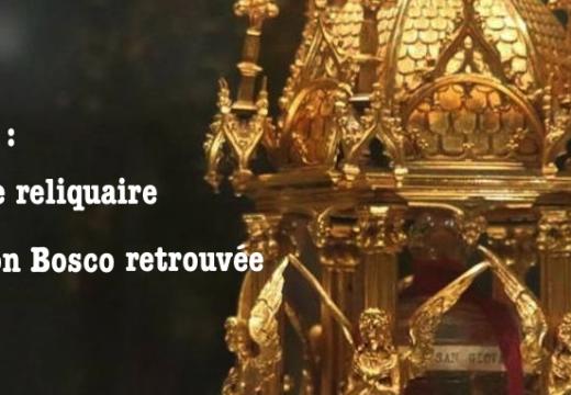Italie : la relique de Don Bosco retrouvée, le voleur arrêté
