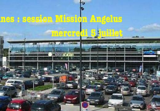 Rennes : session de Mission Angelus le 5 juillet