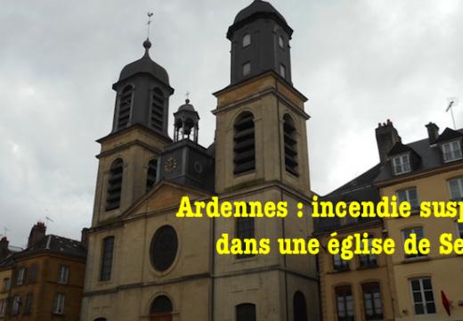 Sedan : incendie suspect dans l'église Saint-Charles