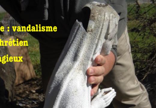 Savoie : vandalisme antichrétien dans le village de Jongieux