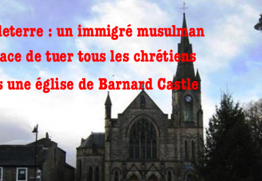 Angleterre : un immigré menace de tuer les chrétiens dans une église du Durham