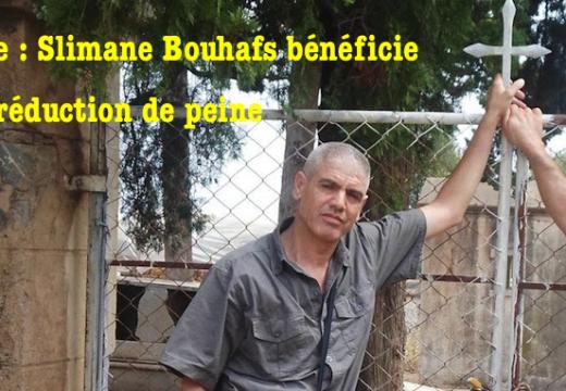 Algérie : Slimane Bouhafs bénéficie d'une réduction de peine