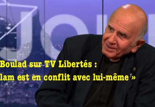 Le P. Boulad sur TV Libertés : « J'accuse l'islam pas les musulmans »…