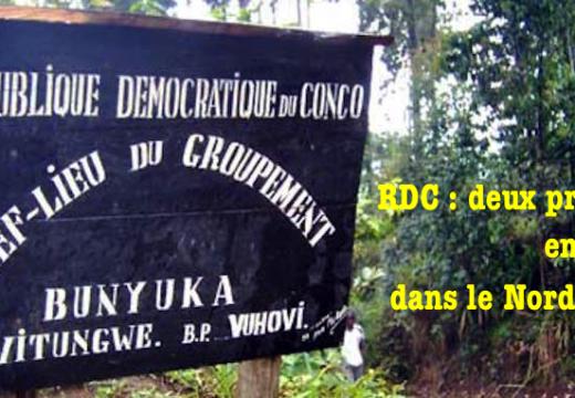 RDC : deux prêtres enlevés dans le Nord-Kivu