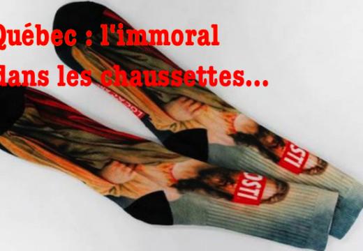 Eh oui ce sont des chaussettes…