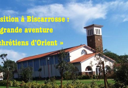 Biscarrosse : exposition « La grande aventure des chrétiens d'Orient »